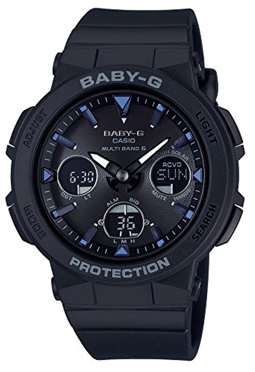 [해외] [카시오] 손목시계 BABY-G BEACH TRAVELER 전파 솔라 BGA-2500-1AJF 레이디스 블랙
