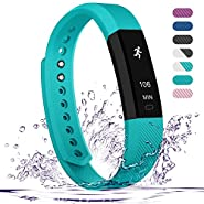 Fitness Tracker,Teslasz Bluetooth 4.0 Sleep Monitor Calorie Counter Pedometer Sport Activity Tracker for Android and IOS Smart Phone