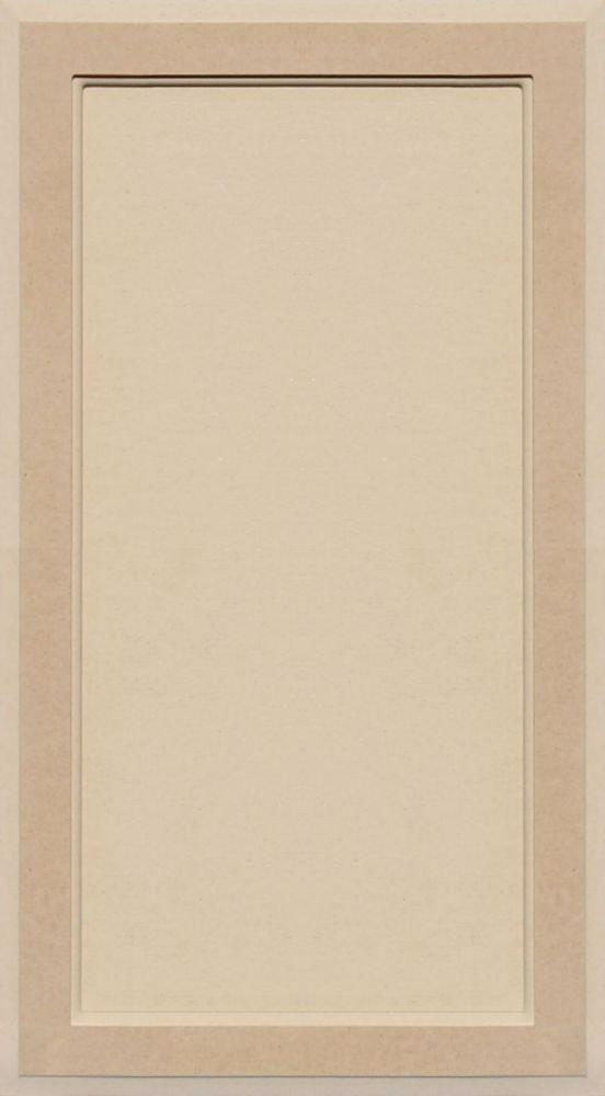 Unfinished MDF Square Flat Panel Cabinet Door by Kendor, 29H x 16W Kendor Wood Inc.
