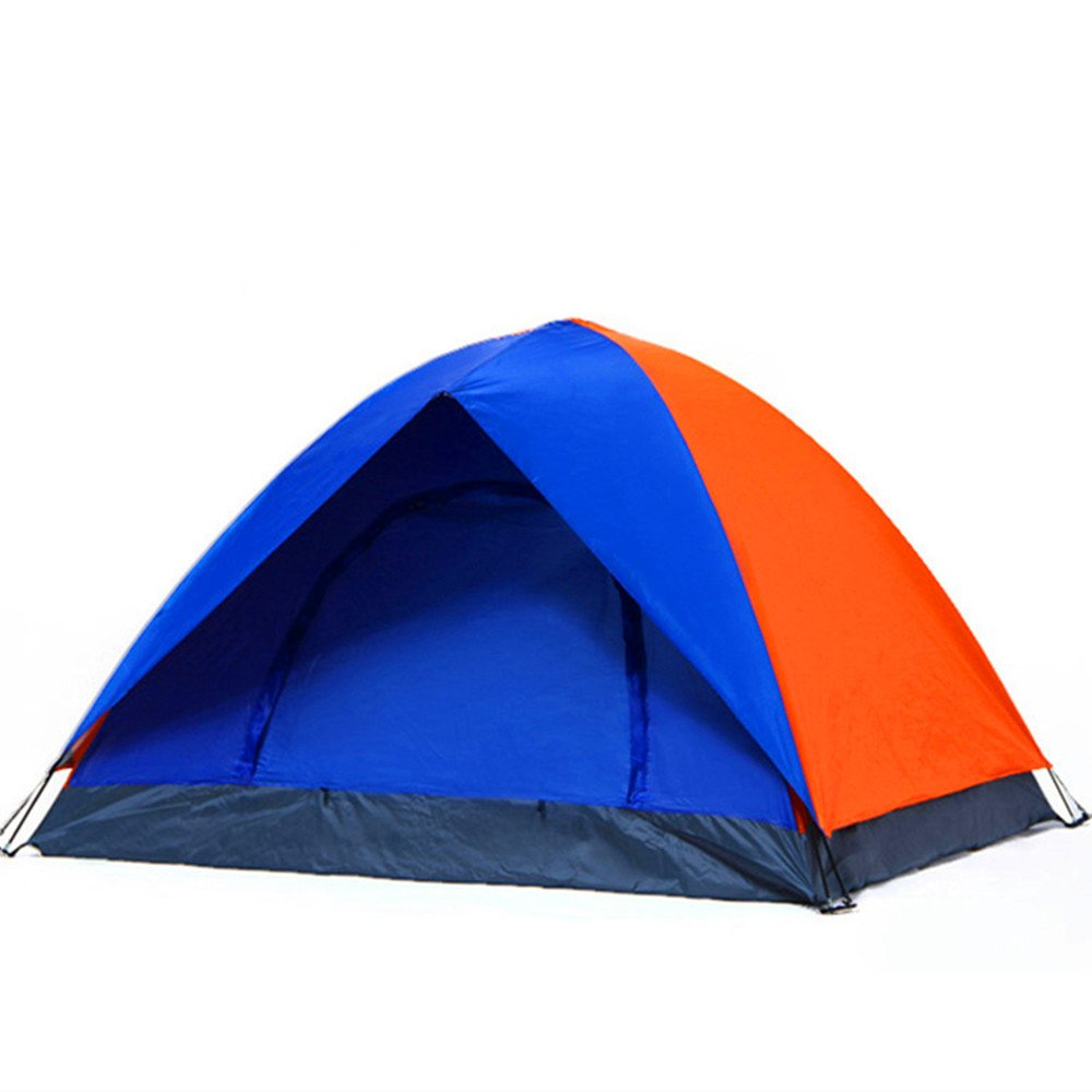 TLMY Outdoor-Zelt Outdoor-Doppel-Camping-Camping-Kinder Einzigen Freizeit-Konto UV-Schutz Zelte