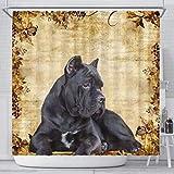 Breedink Cute Cane Corso Print Shower Curtains