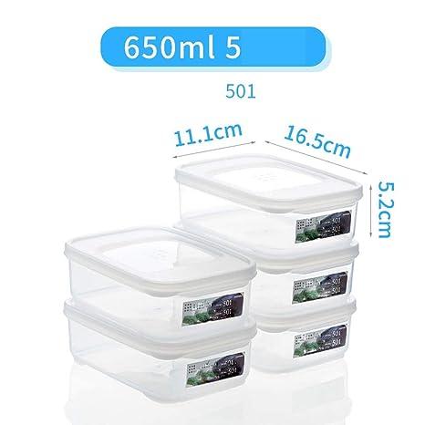 Amazon.com: Caja de almacenamiento transparente para ...