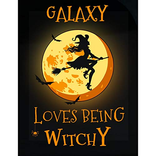 Inked Creatively Galaxy Loves Being Witchy Sticker]()