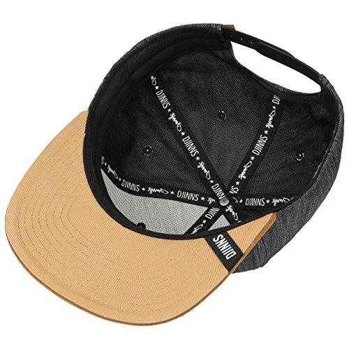 modasnapback gorra moda Snapback gorra de Djinns by cap negro Linen Cap de f6qIqYw