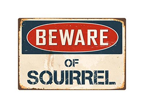 StickerPirate Beware Of Squirrel 8