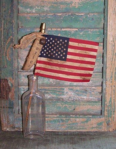 Handmade Primitive American Flag - AMERICA