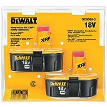 DEWALT DC9096-2 18-Volt XRP Batteries, 2 pk