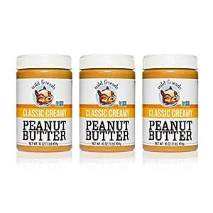 Wild Friends Classic Creamy Peanut Butter 3-Pack