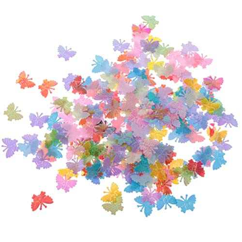 Flower Confetti 350pcs Scatter New Hot Sale 1 Bag Colorful Butterfly Confetti Sprinkles Table Scatters Wedding Birthday Engagement Party Supply Decor Accessory (Random)