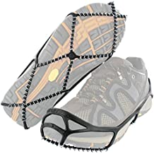 Yaktrax Walk Traction Cleats for Walking on Snow and Ice (1 Pair) (Renewed)
