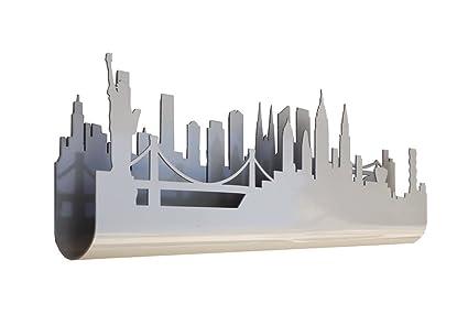 Skyline 3.03 Perchero Decorativo de Pared, diseño New York ...