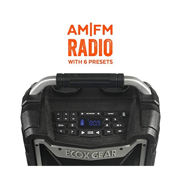 ECOXGEAR-EcoTrek-GDI-EXTRK210 AM FM