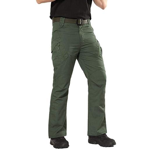 Amazon.com: Dacawin - Pantalones de trabajo para hombre ...