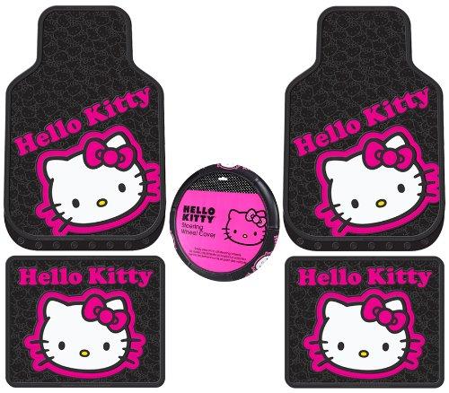 rubber car mats hot pink - 3