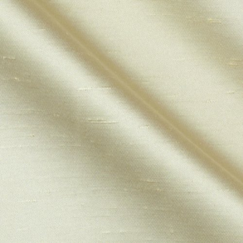 y Fabric By The Yard (Ivory Silk Chiffon)