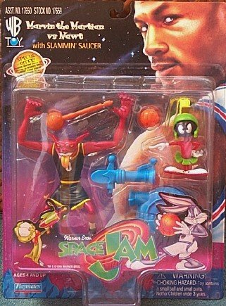 Jam Saucer (Space Jam Marvin the Martian Vs Nawt with Slammin Saucer)