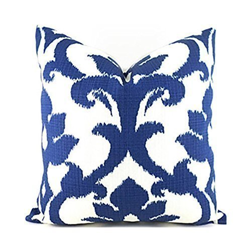Outdoor Decorative Throw Pillow Cover Any Size OD Basalto Navy