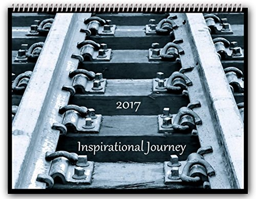 2017 Inspirational Journey Wall Calendar Large 11x14