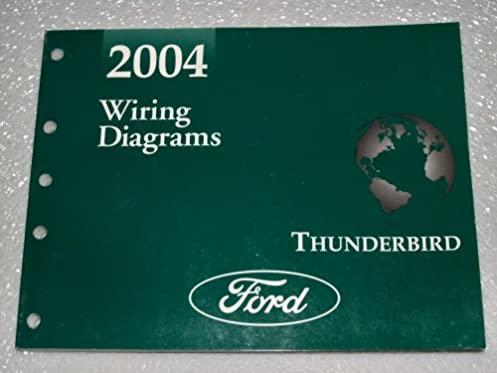 2004 ford thunderbird wiring diagrams ford motor company amazon rh amazon com