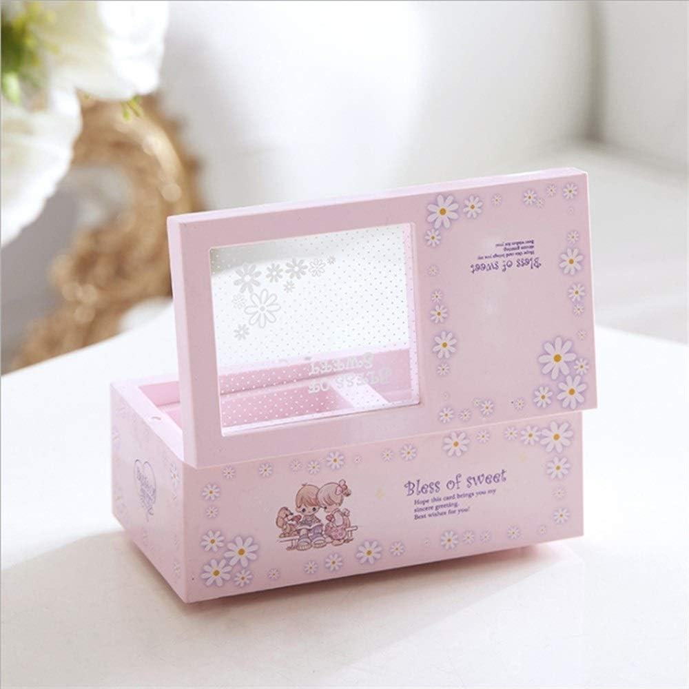 Couleur : Blue Ji Yun Creative Ballet Girl Rotation Music Box Music Box Enfants Hommes Et Femmes Cadeau danniversaire Ornements Cadeaux D/écoration