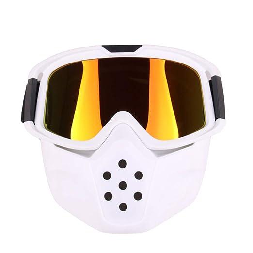 Yangjing-hl Gafas Retro Racing Gafas de equitación Gafas ...