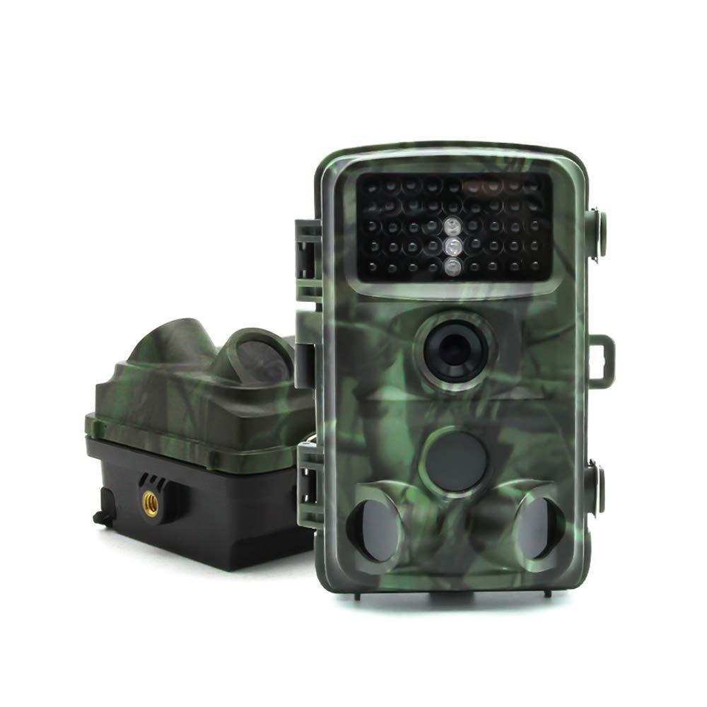 Unbekannt Jagdkamera, 5 Megapixel Mehrwinkel-Jagdkamera, Wasserdichte Niedertemperatur-Infrarot-Nachtsichtkamera