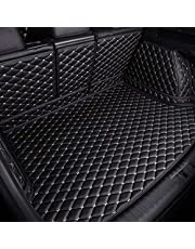för Porsche Cayenne 2011-2015 bil baklucka läder auto heltäckande bakre bagagebricka lastfoder skydd mattor halkfri vattentät förvaring golvmatta hållbart skydd interiör tillbehör