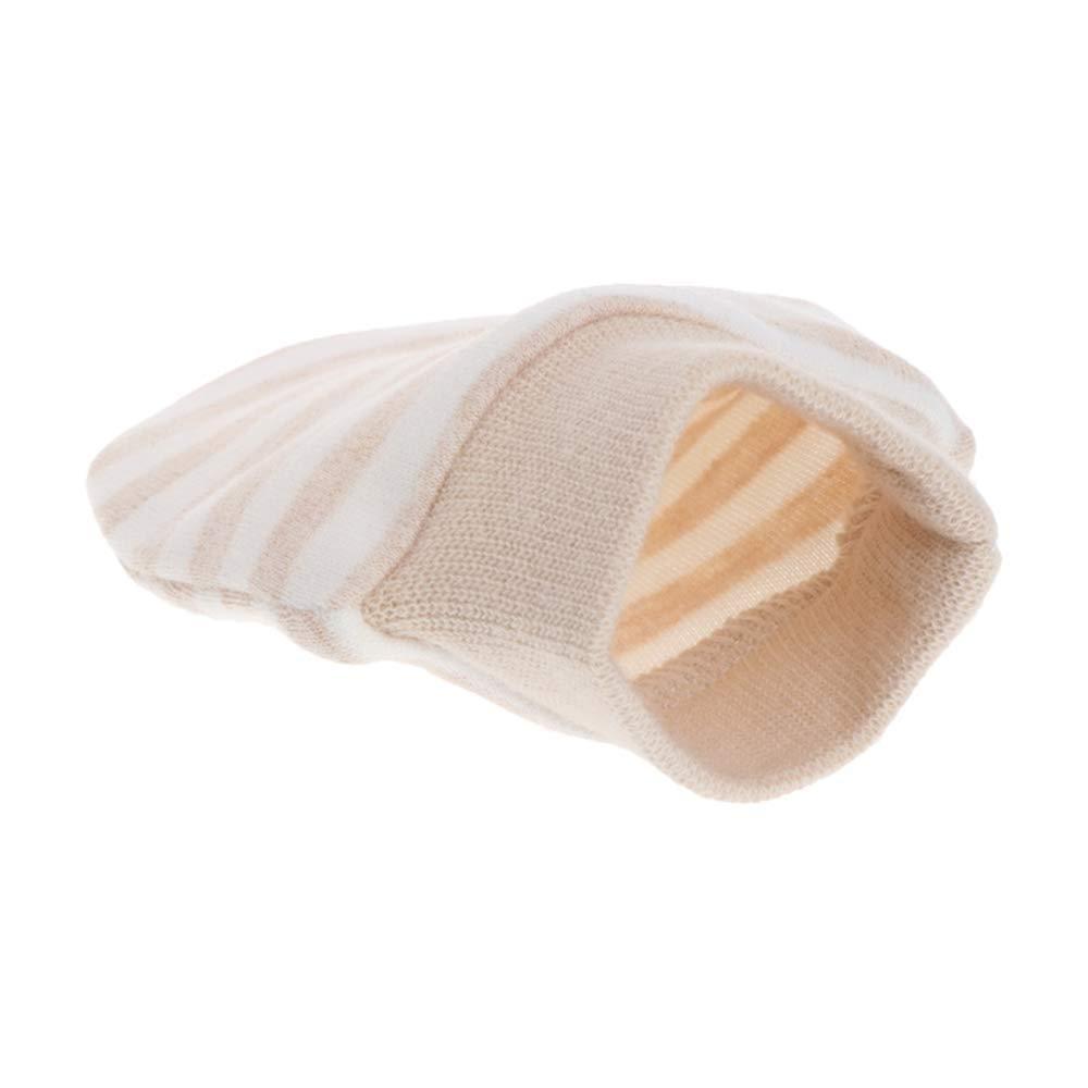 LOVARTS BEAUTY 2 Pair Baby Organic Cotton Gloves Newborn Winter Warm Scratch Mittens