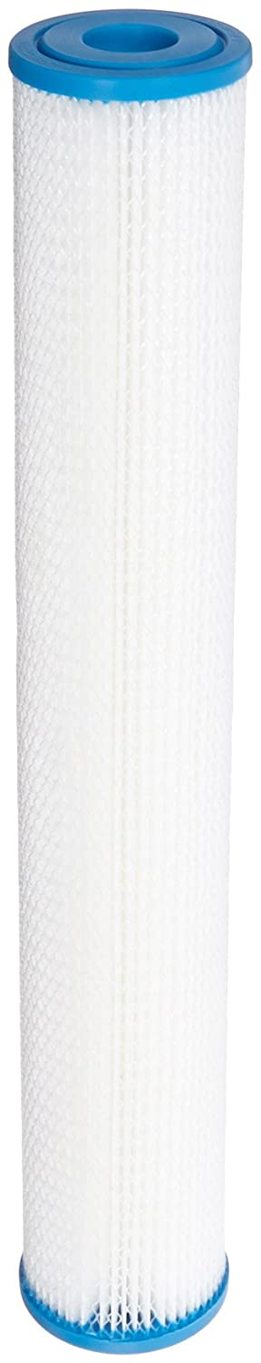 Hydronix SPC-25-2010 Polyester Pleated Filter 2.5 OD X 20 Length 10 Micron