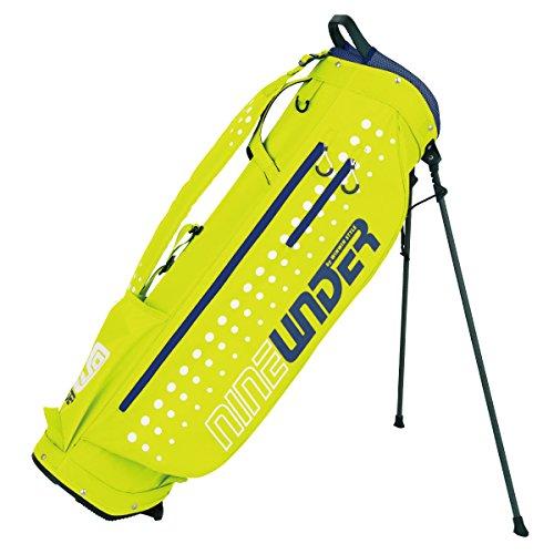 扱うエレメンタルペルーWINWIN STYLE(ウィンウィンスタイル) キャディーバッグ NINE UNDER Super Light Weight Stand Bag 9.0型 47インチ対応 ユニセックス CB-891 ライムイエロー デザイン:特殊プリント加工