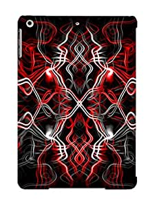 Exultantor Ultra Slim Fit Hard Case Cover Specially Made For Ipad Air- Abstract Artistic