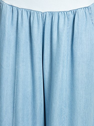 Blu Stile Donna Estivi A In chiaro Palazzo Caspar Pantaloni Jeans Khs046 z7wPqP