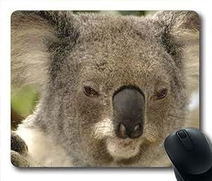 Koala Bear Face Oblong Shaped Mouse Mat