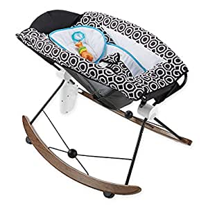 """35"""" L x 22"""" W x 24"""" H Jonathan Adler Crafted by Fisher Price Deluxe Rock 'n Play Sleeper"""