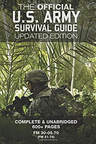 amazon com the official us army survival guide updated edition rh amazon com