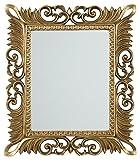 Denisha Accent Mirror Antique Gold/Traditional