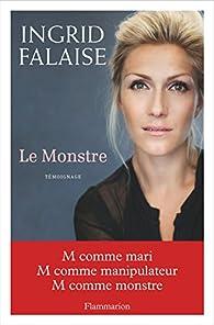 Le monstre par Ingrid Falaise