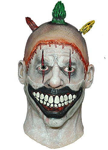 [American Horror Story - Twisty the Clown Economy Mask] (Twisty The Clown Costume Mask)