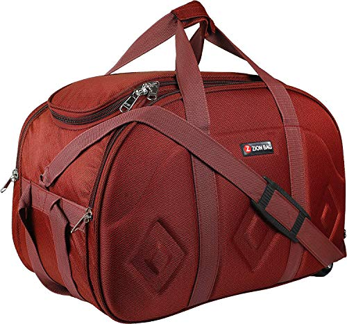 Zion Bags Lightweight Waterproof Luggage Cabin Bags red