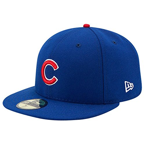 New Era Men's 70331934 Blue (Cubs Fitted Hat)