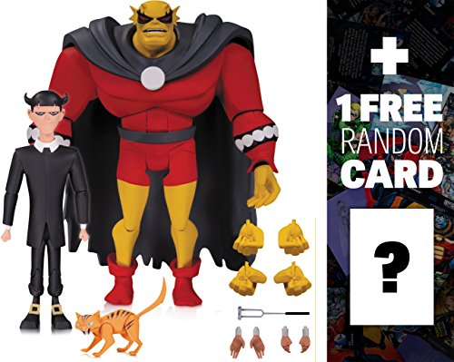 Etrigan & Klarion: Batman The Animated Series x DC Collectibles Action Figure + 1 FREE Official DC Trading Card Bundle (33588)