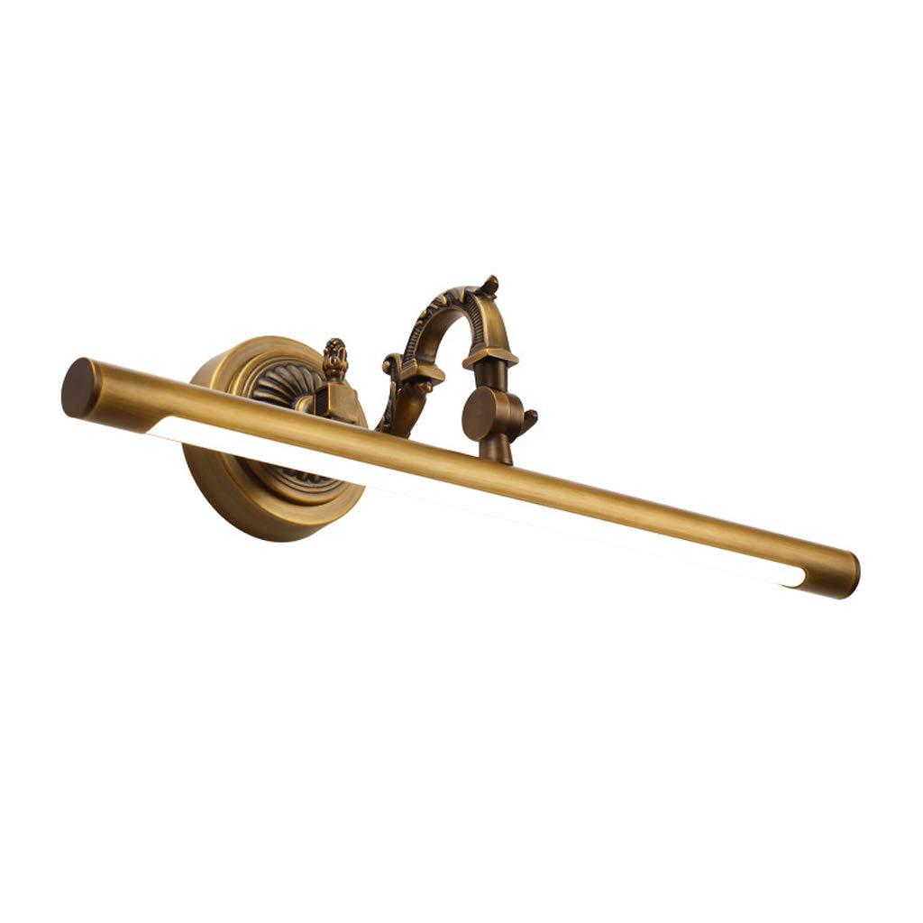 アメリカの銅鏡のヘッドライト、寝室のドレッサーフリーパンチのバスルーム防水ミラーキャビネットライト,Medium58cm   B07GVGRV2T