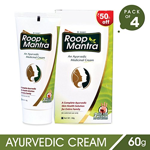 Roop Mantra Fairness Face Cream with Aloe Vera (60gm, Pack o