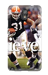 Clevelandrowns Case Compatible With Galaxy Note 3/ Hot Protection Case