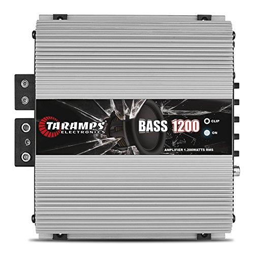 Módulo Amplificador Taramps Bass 1200 1200W RMS 1 Canal 2 Ohms Digital