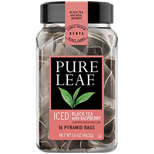 Pure Leaf Iced Tea Bags, Black Tea with Raspberry 16 ct