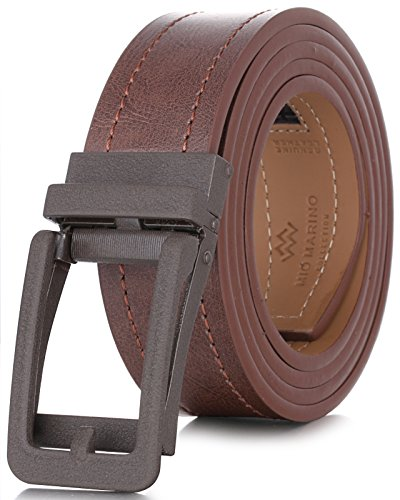 (Marino Avenue Genuine Leather belt for Men, 1.3/8