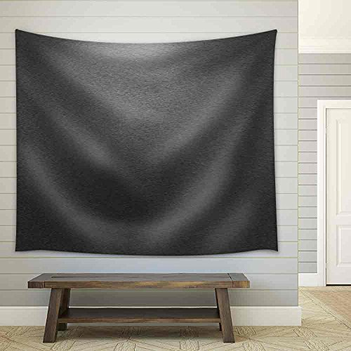 Pattern of Brushed Black Metal Background Fabric Wall Tapestry
