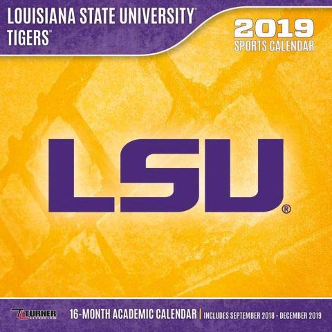 Lsu Academic Calendar 2019 LSU Tigers 2019 calendario: Lang Holdings Inc.: 9781469359687