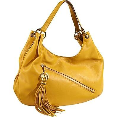 bd3495819176 MICHAEL Michael Kors Charm Tassel Large Shoulder Tote Shoulder Handbags -  Yellow: Amazon.co.uk: Shoes & Bags